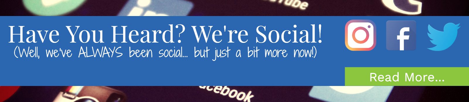 Image-We are on social media